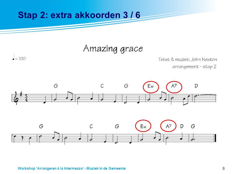 Stap 2: extra akkoorden 3 / 6
