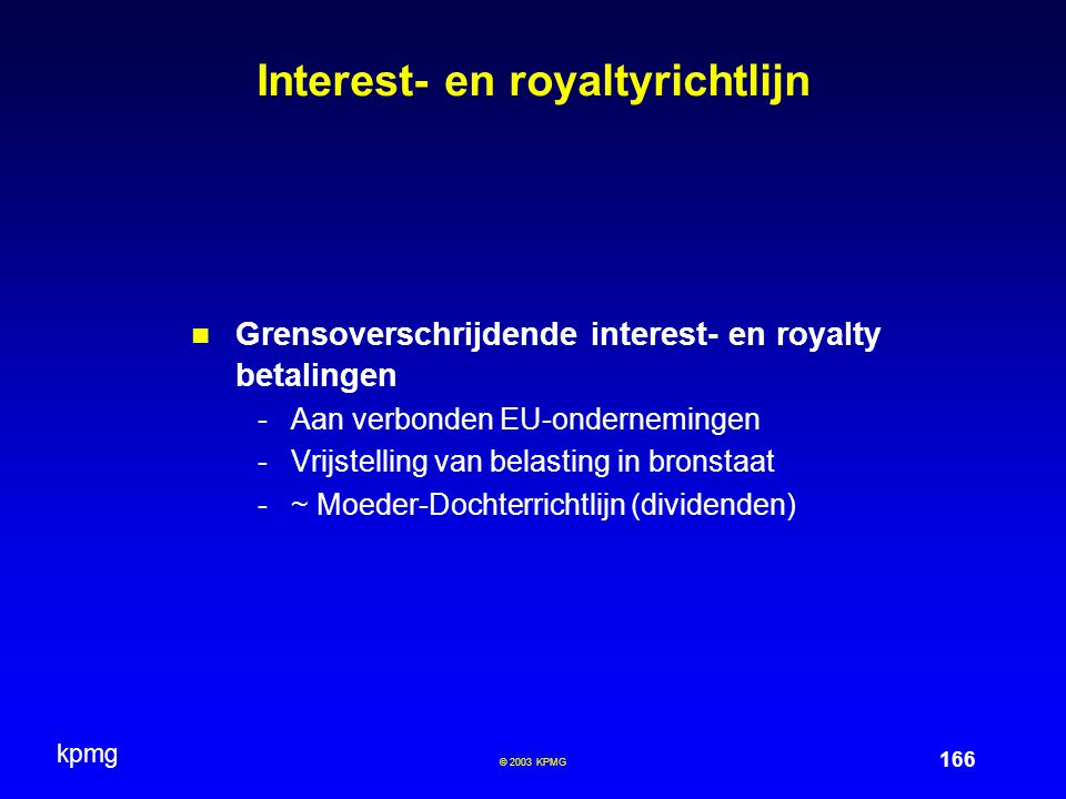 Interest- en royaltyrichtlijn