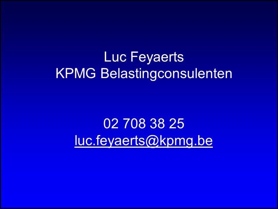 KPMG Belastingconsulenten