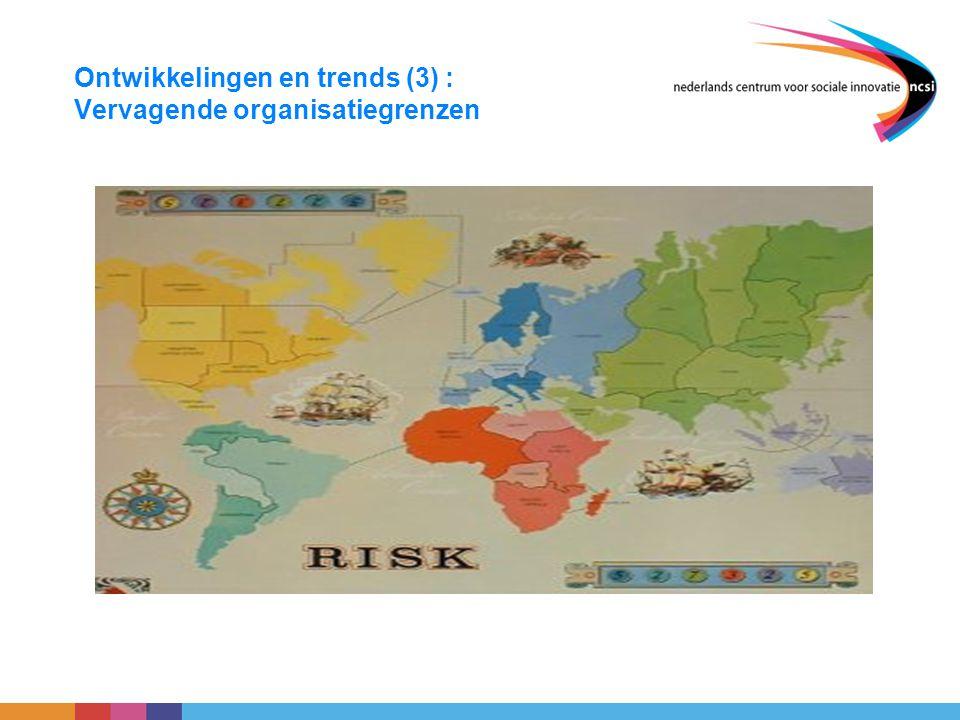 Ontwikkelingen en trends (3) : Vervagende organisatiegrenzen