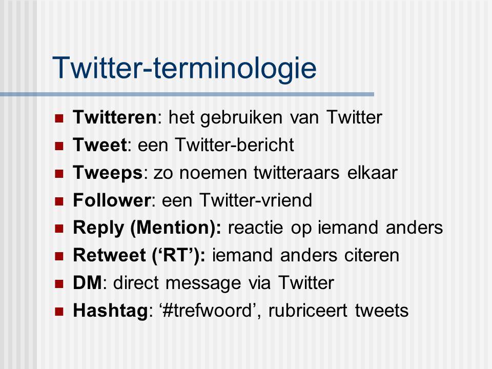 Twitter-terminologie