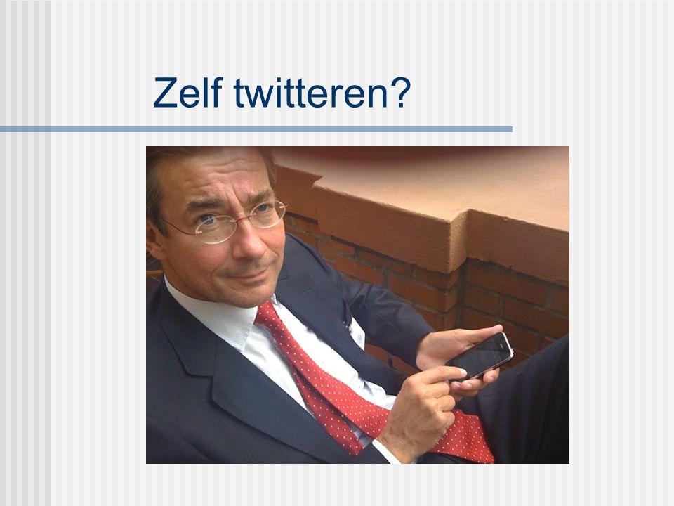 Zelf twitteren