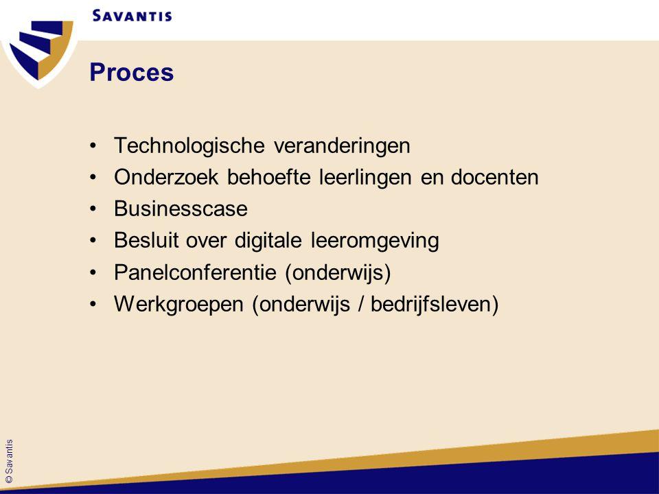 Proces Technologische veranderingen