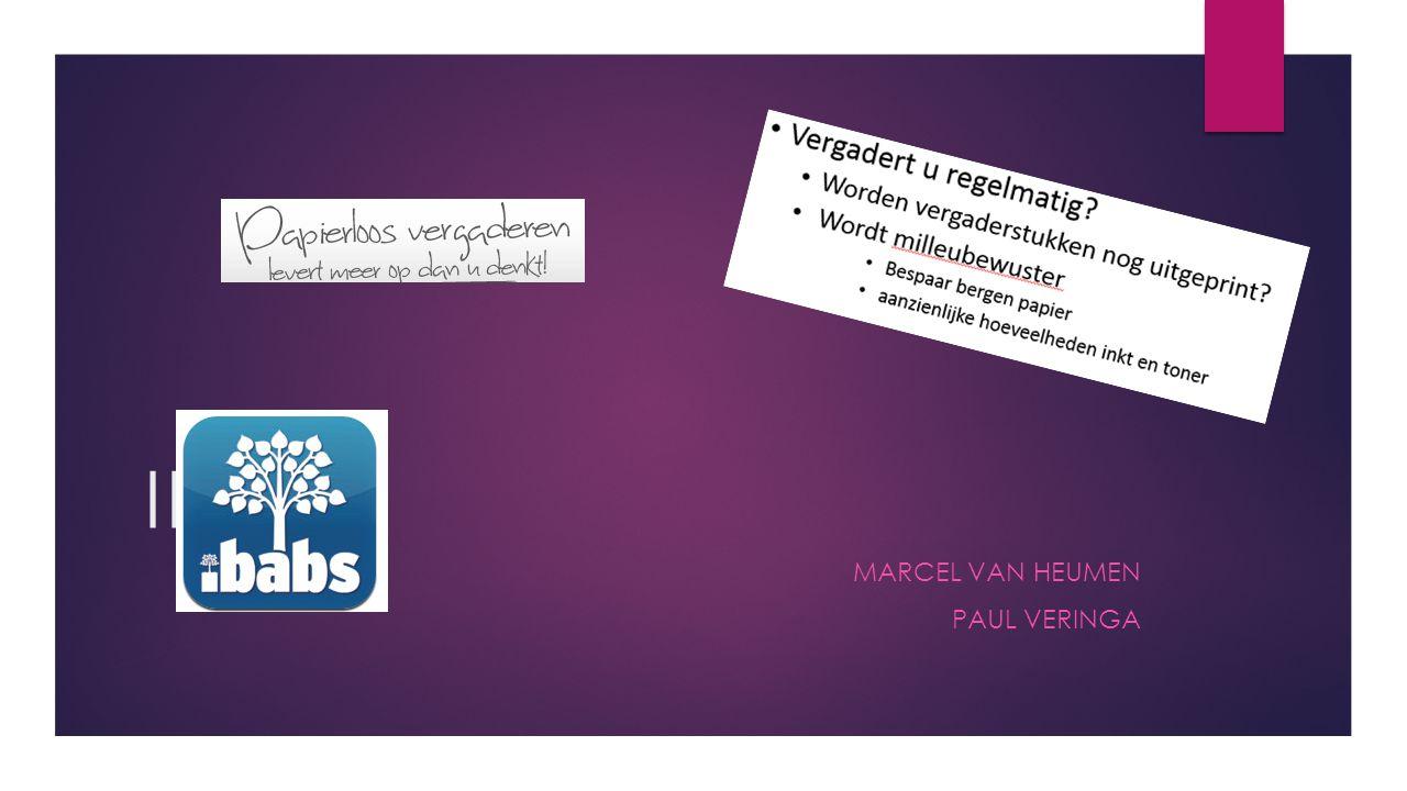 Marcel van Heumen Paul Veringa
