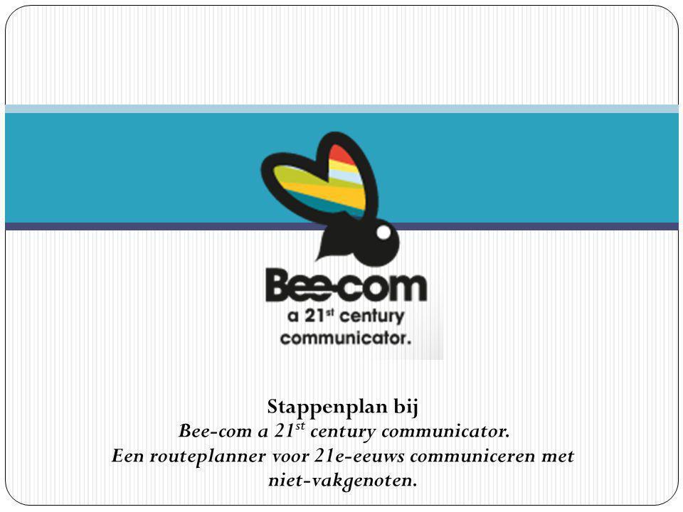 Stappenplan bij Bee-com a 21st century communicator