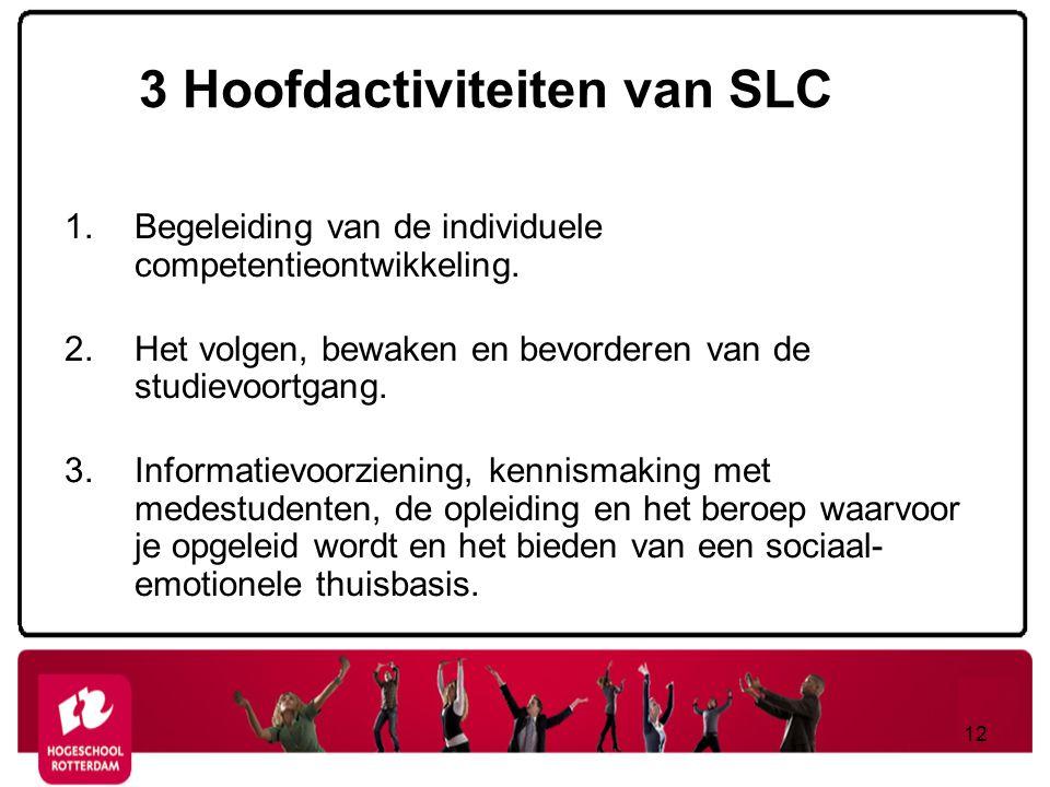3 Hoofdactiviteiten van SLC