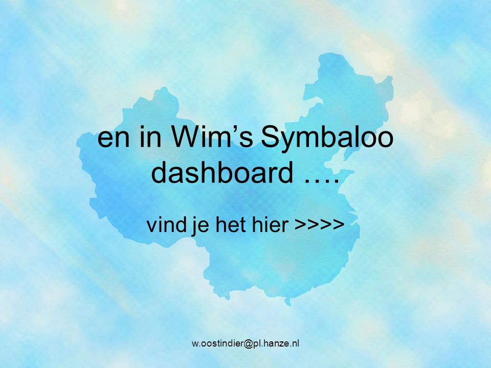 en in Wim's Symbaloo dashboard ….