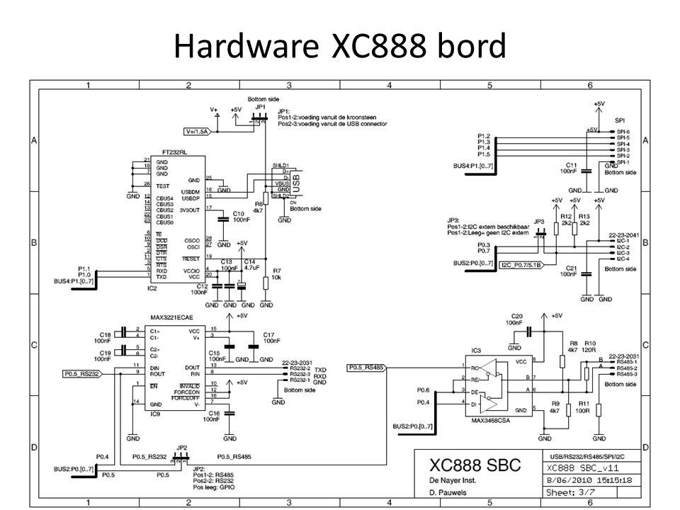 Hardware XC888 bord