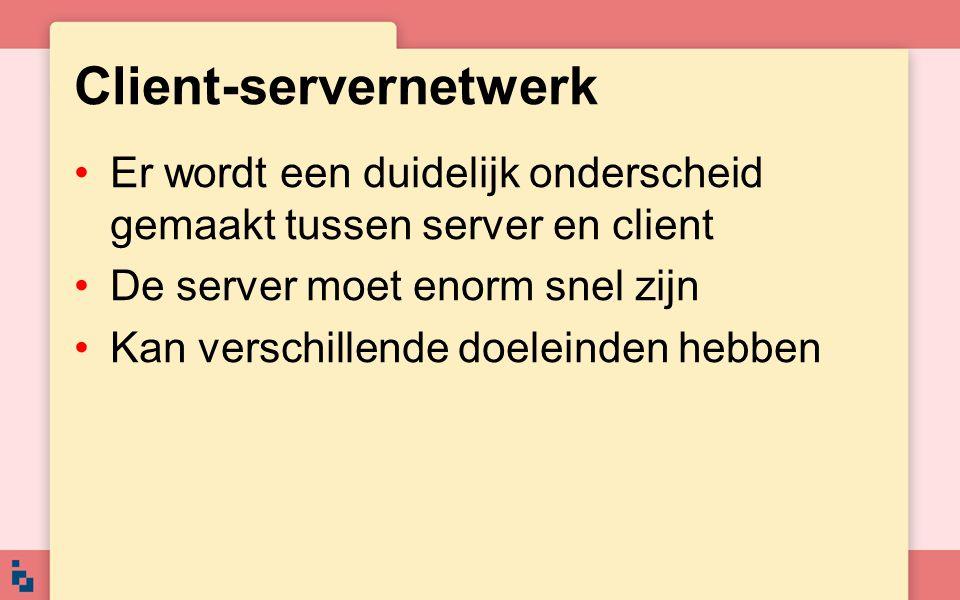 Client-servernetwerk