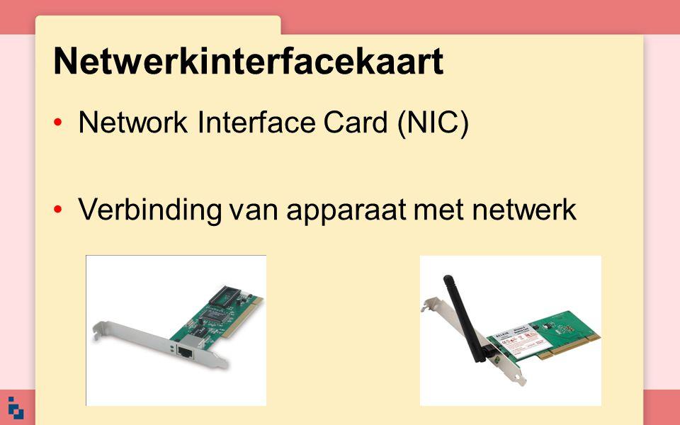 Netwerkinterfacekaart