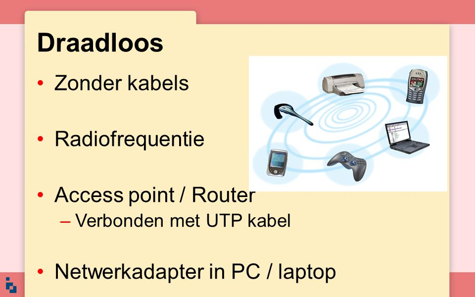 Draadloos Zonder kabels Radiofrequentie Access point / Router