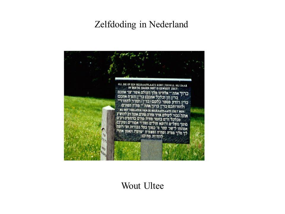 Zelfdoding in Nederland