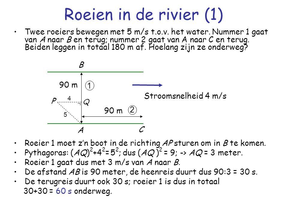 Roeien in de rivier (1)
