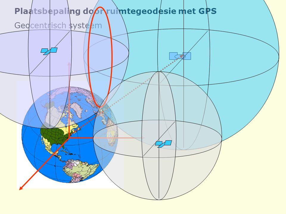 Plaatsbepaling door ruimtegeodesie met GPS