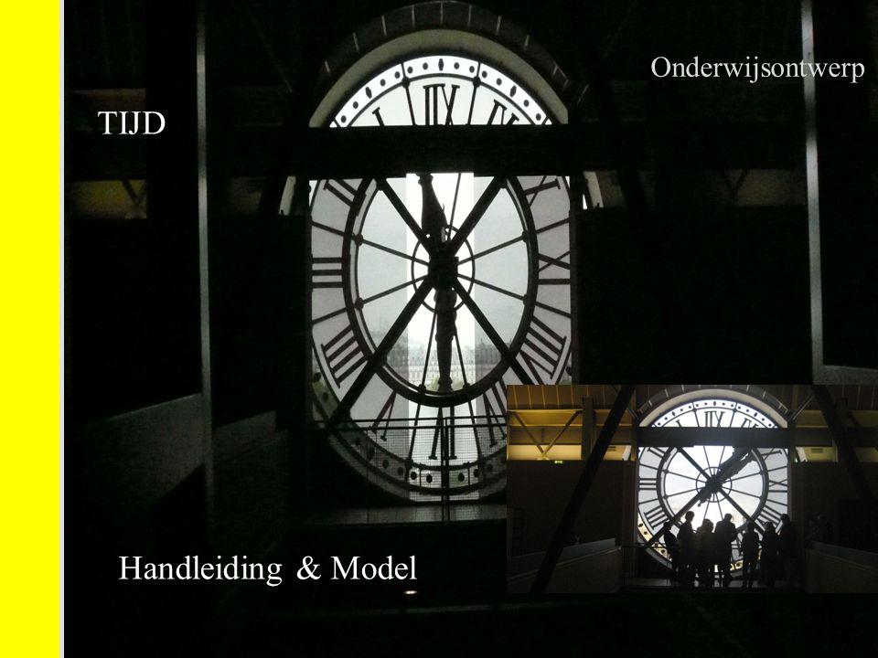 Onderwijsontwerp TIJD Handleiding & Model