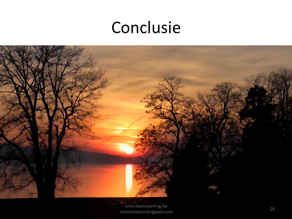 Conclusie Geduld en Vertrouwen