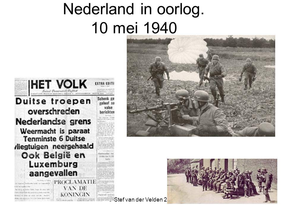 Nederland in oorlog. 10 mei 1940