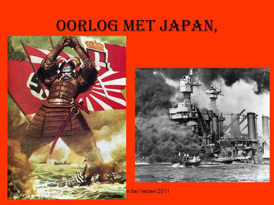 Oorlog met Japan, © Stef van der Velden 2011