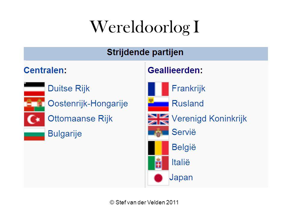 Wereldoorlog I © Stef van der Velden 2011