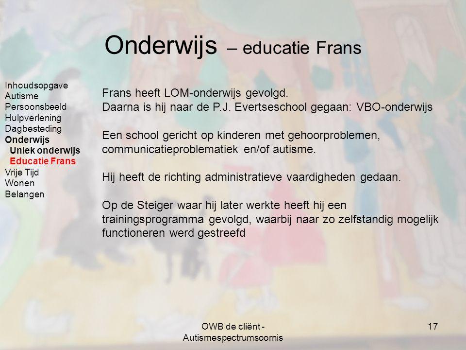 Onderwijs – educatie Frans