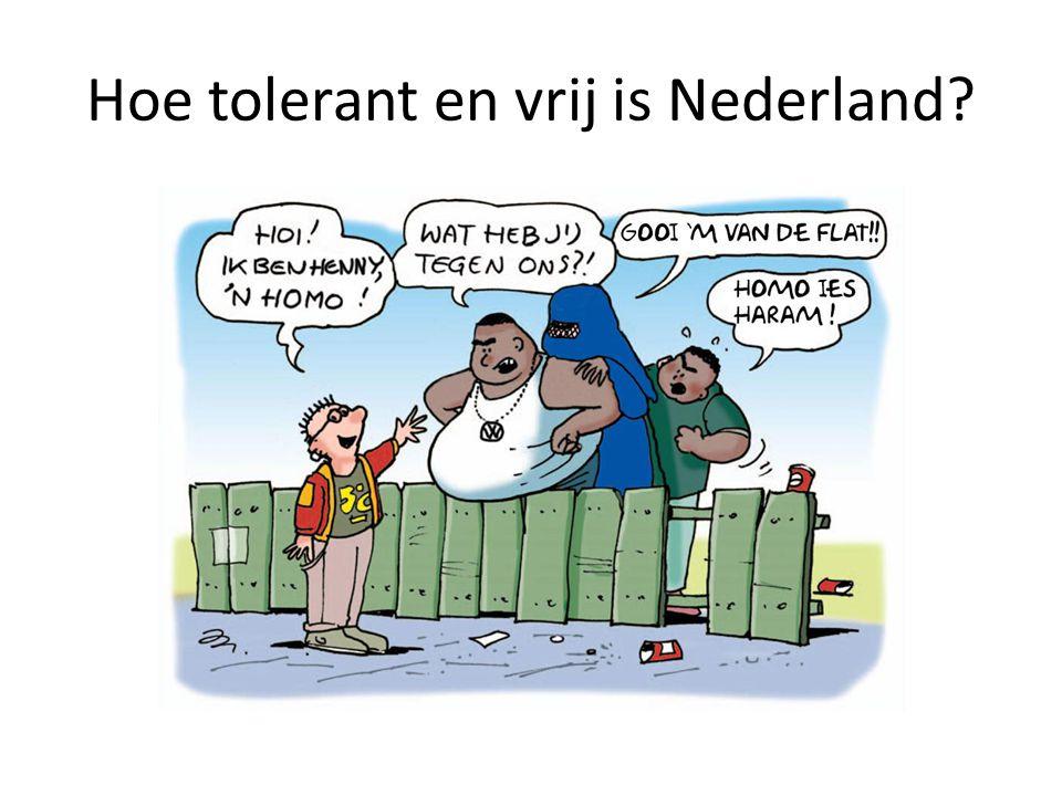 Hoe tolerant en vrij is Nederland