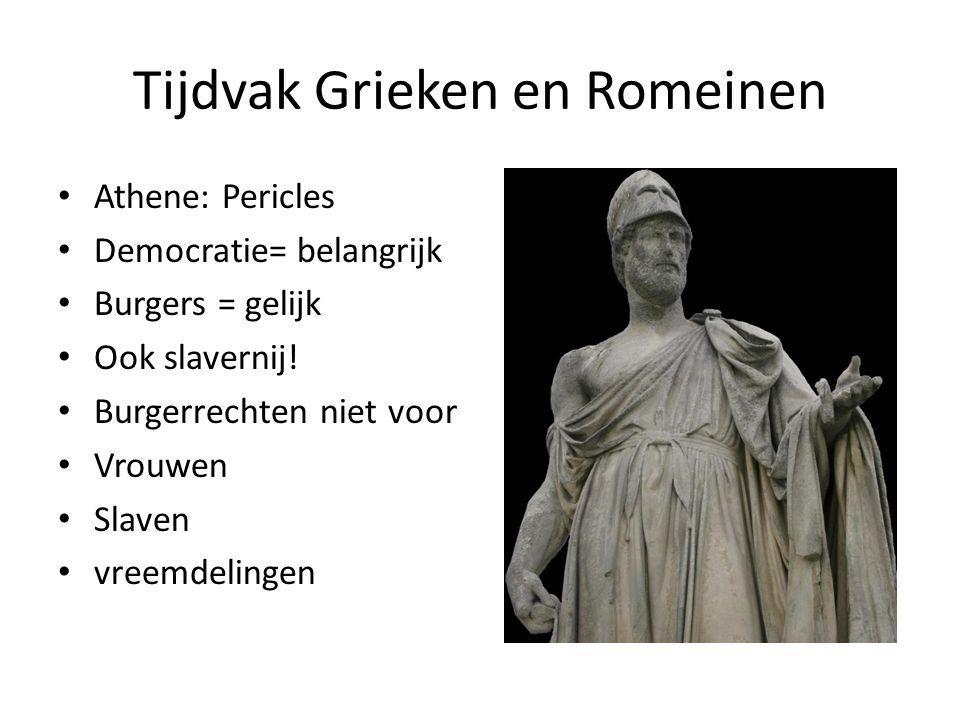 Tijdvak Grieken en Romeinen
