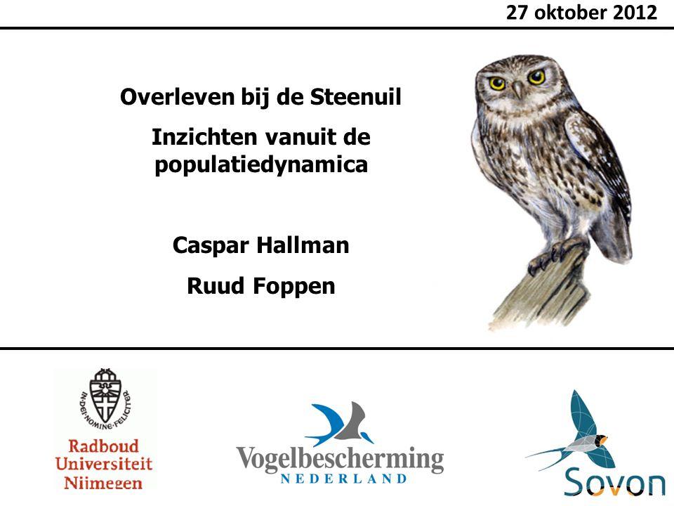 Overleven bij de Steenuil Inzichten vanuit de populatiedynamica