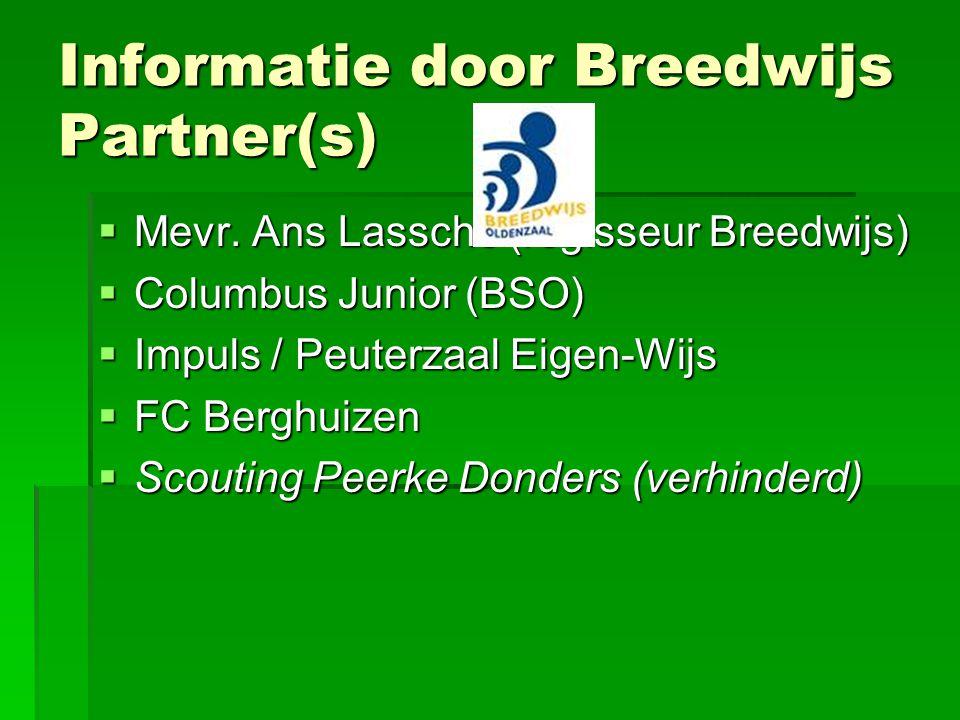 Informatie door Breedwijs Partner(s)