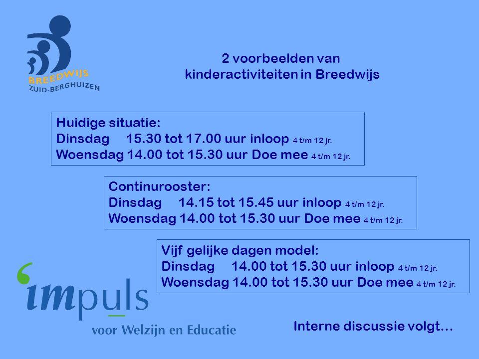 kinderactiviteiten in Breedwijs