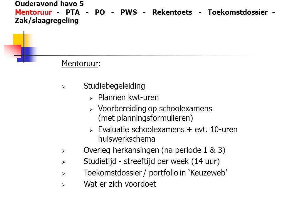 Voorbereiding op schoolexamens (met planningsformulieren)