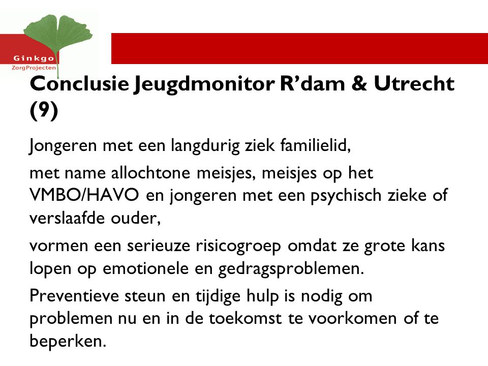 Conclusie Jeugdmonitor R'dam & Utrecht (9)