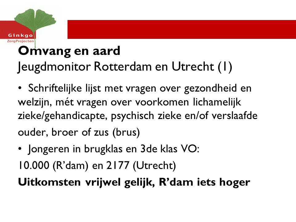 Omvang en aard Jeugdmonitor Rotterdam en Utrecht (1)