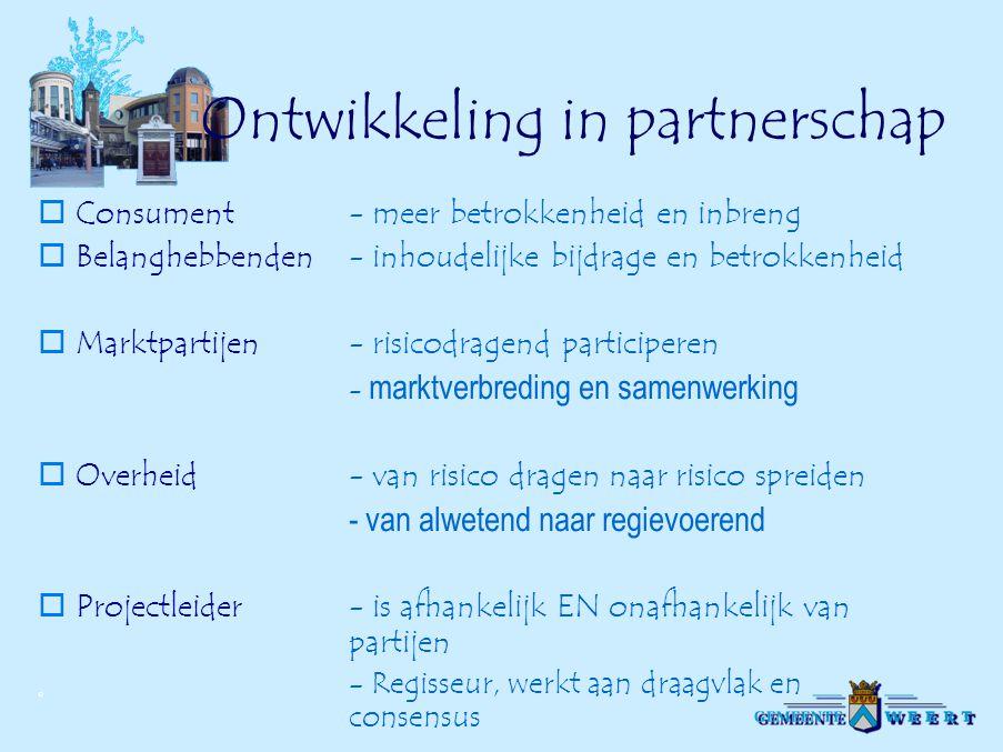 Ontwikkeling in partnerschap