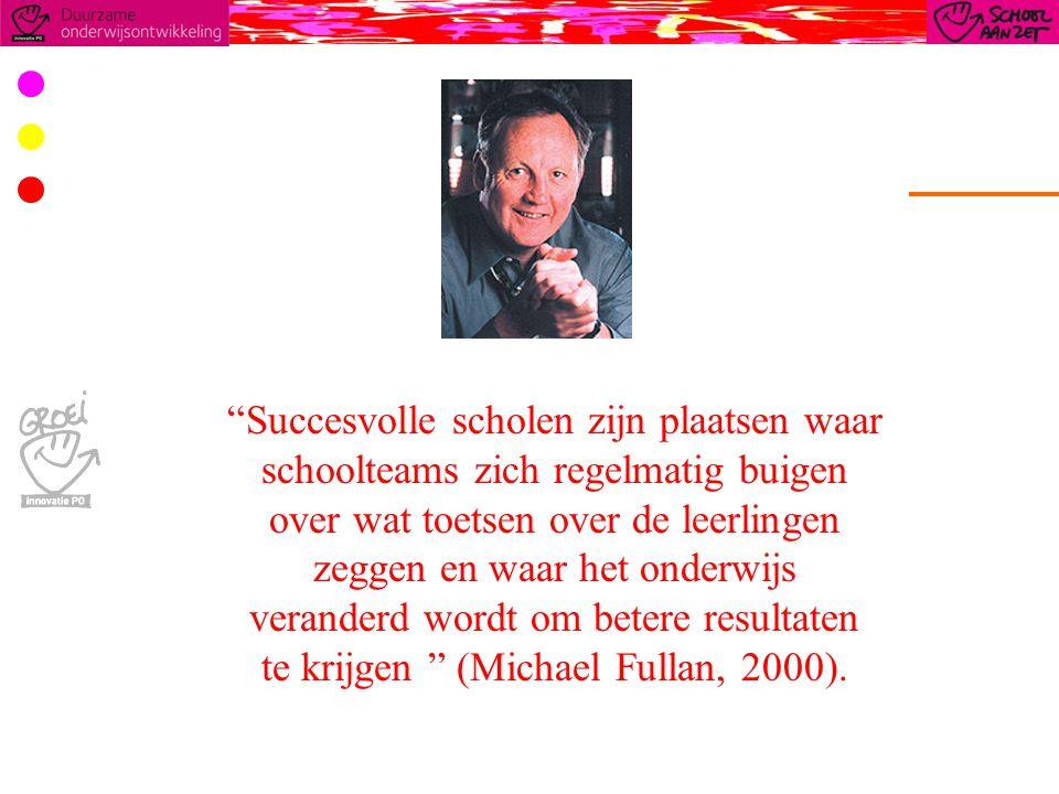 Succesvolle scholen zijn plaatsen waar