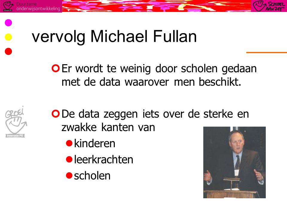 vervolg Michael Fullan