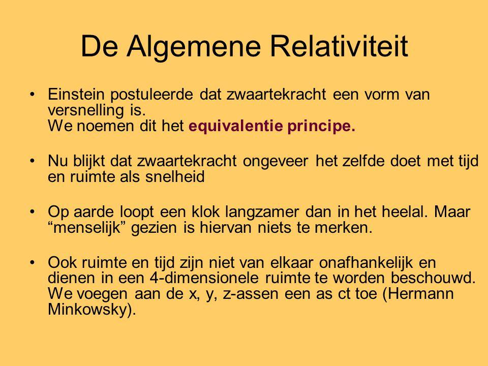De Algemene Relativiteit