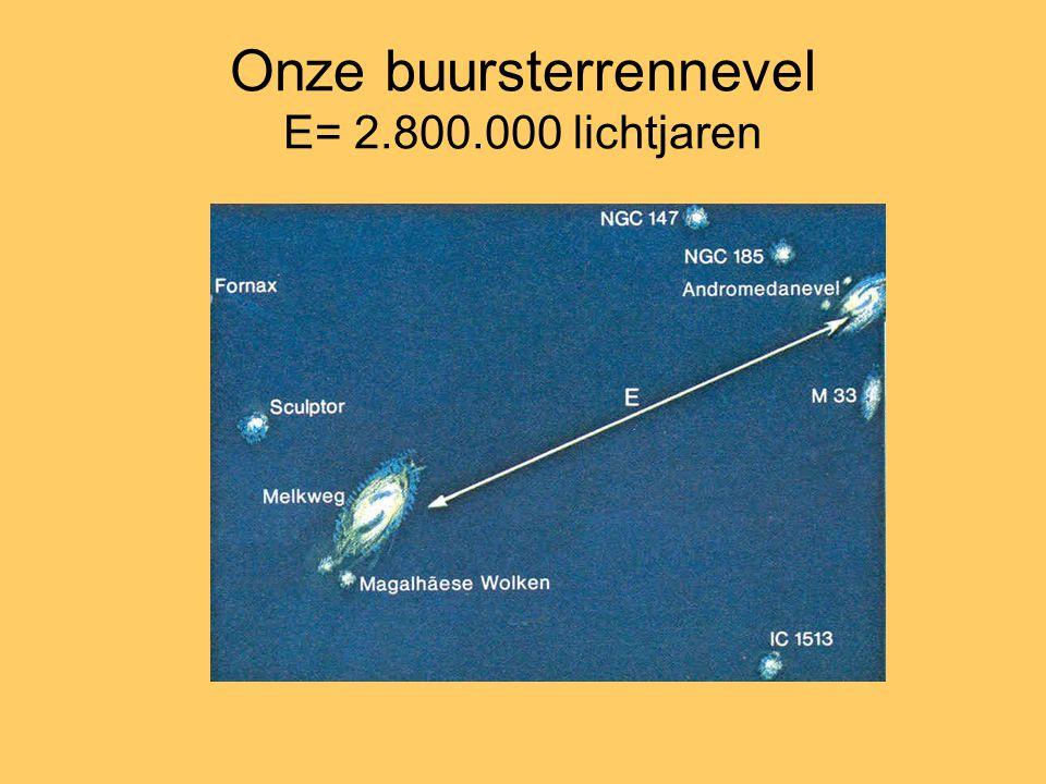 Onze buursterrennevel E= 2.800.000 lichtjaren