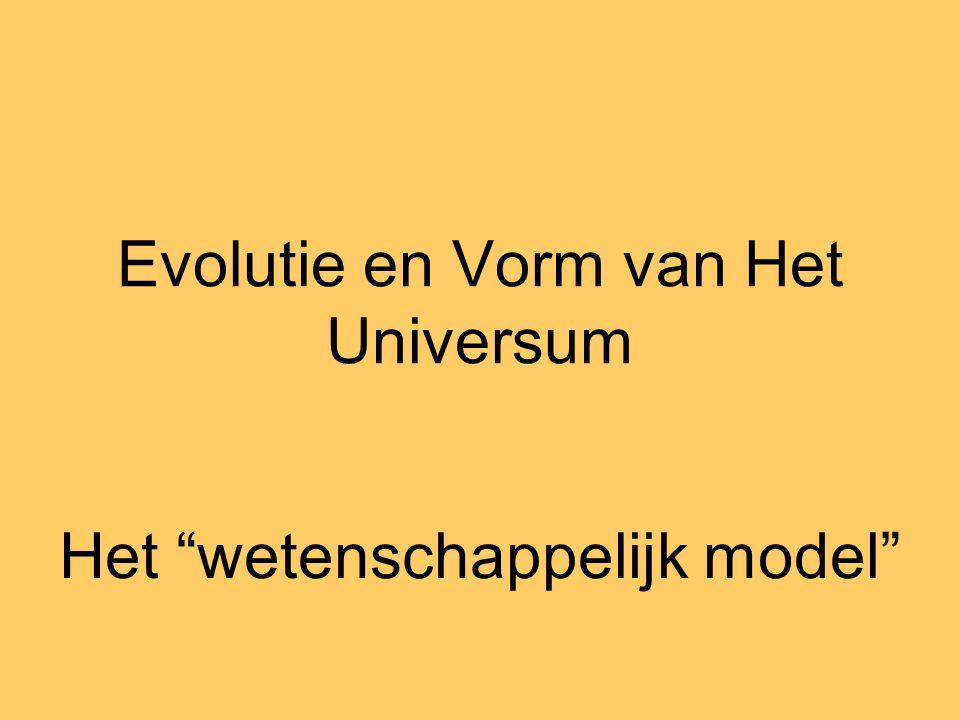 Evolutie en Vorm van Het Universum