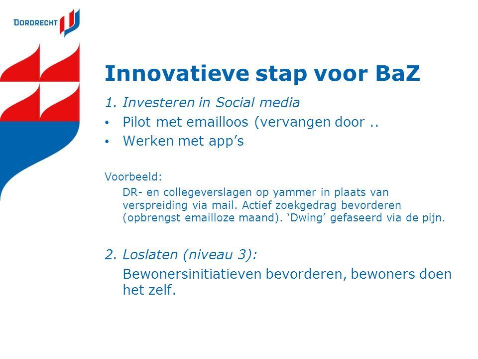 Innovatieve stap voor BaZ