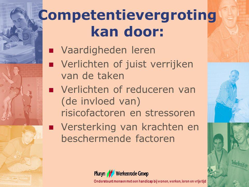Competentievergroting kan door: