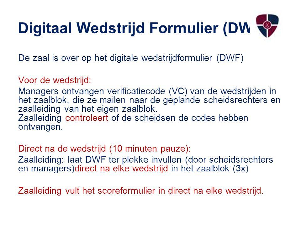 Digitaal Wedstrijd Formulier (DWF)ig