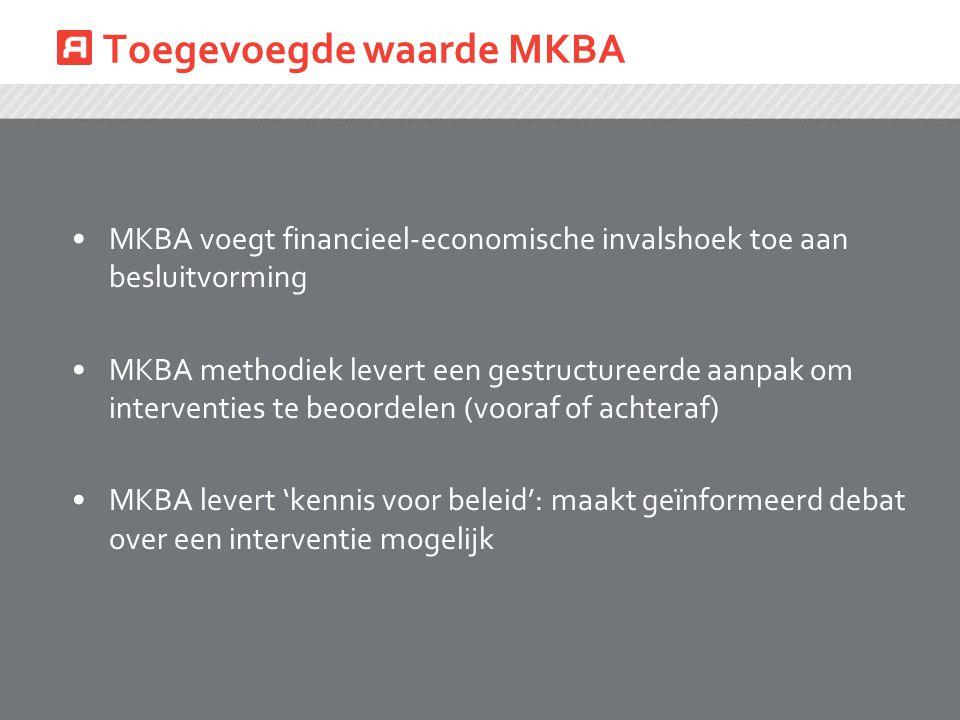 Toegevoegde waarde MKBA