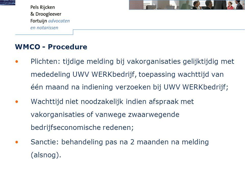 WMCO - Procedure