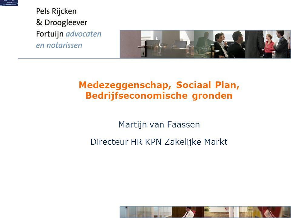 Medezeggenschap, Sociaal Plan, Bedrijfseconomische gronden