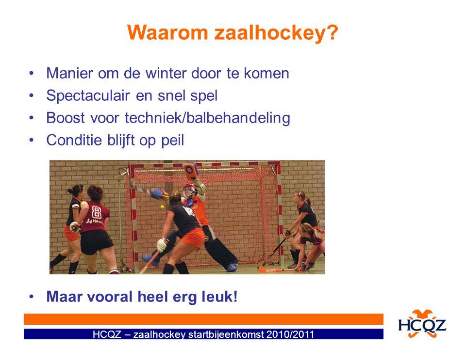 Waarom zaalhockey Manier om de winter door te komen