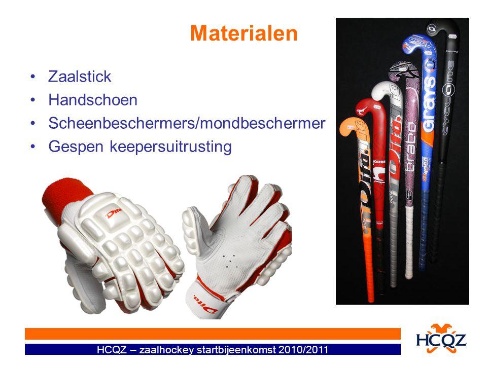 Materialen Zaalstick Handschoen Scheenbeschermers/mondbeschermer