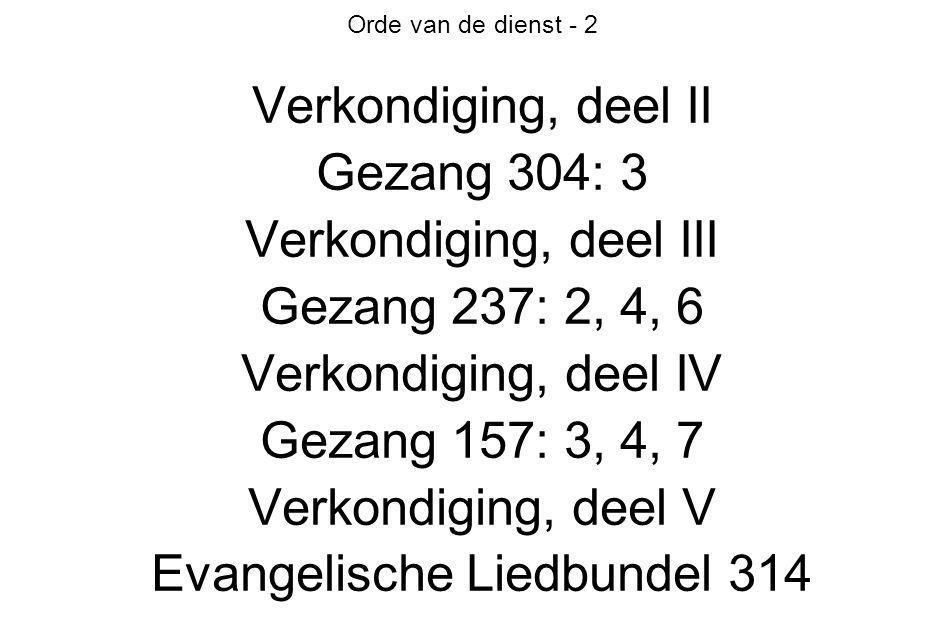 Evangelische Liedbundel 314