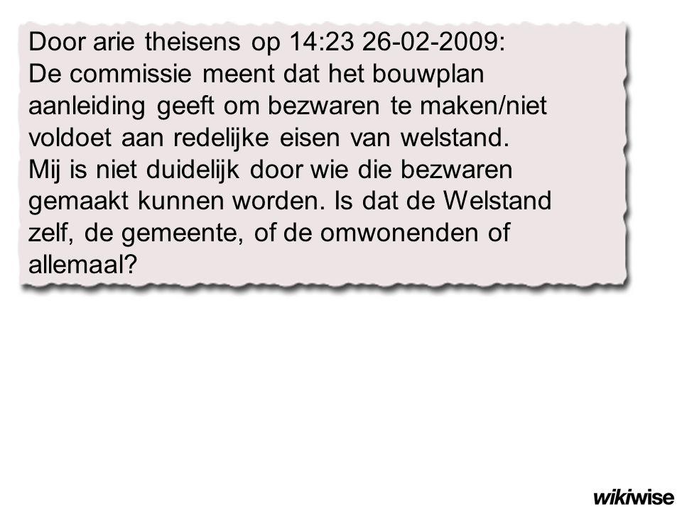 Door arie theisens op 14:23 26-02-2009: