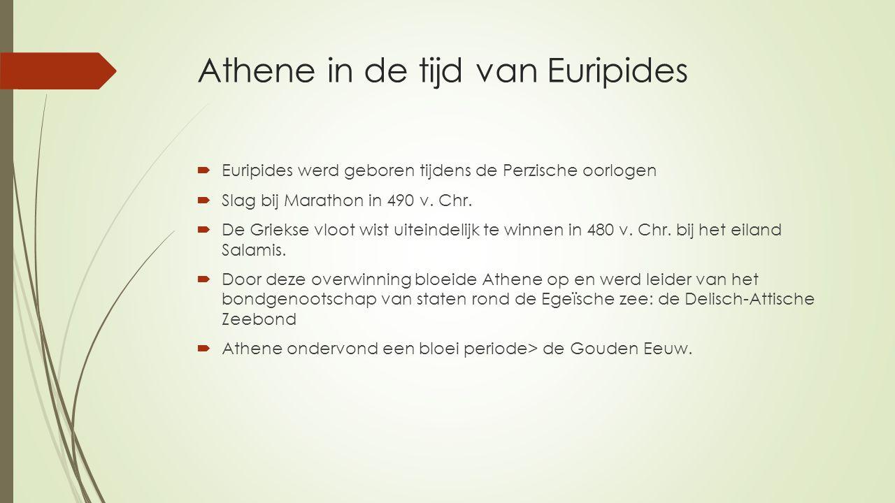 Athene in de tijd van Euripides