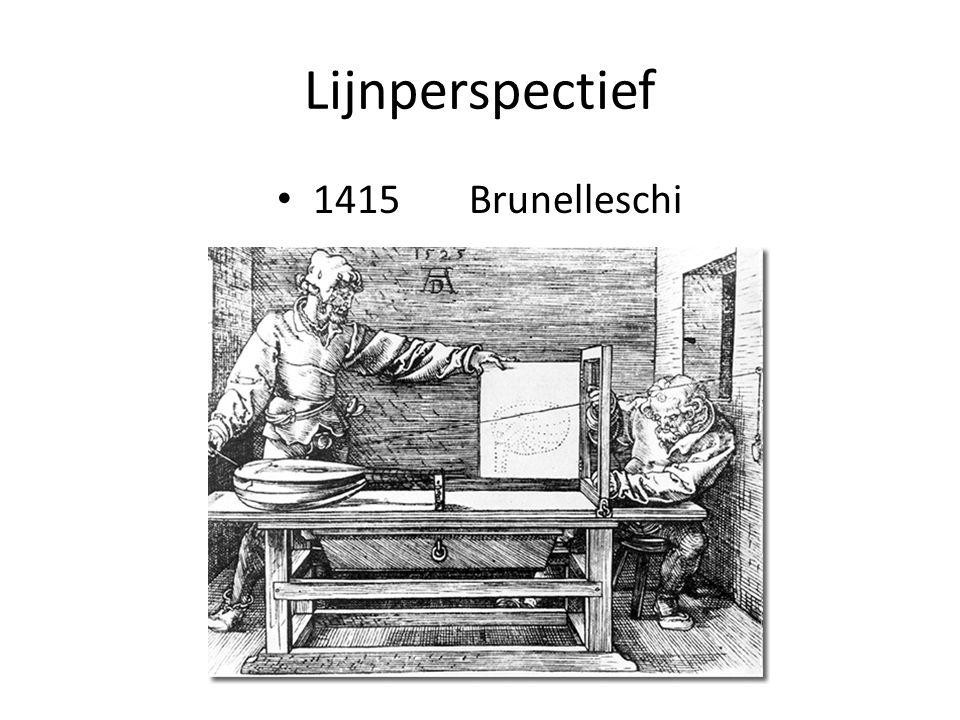 Lijnperspectief 1415 Brunelleschi
